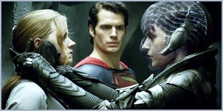 Lois Lane, Clark Kent y Faora-Ul