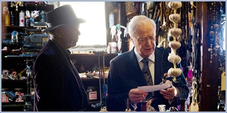 Morgan Freeman y Michael Caine