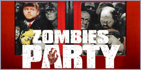 Zombies party (Shaun of the dead)