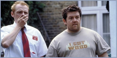 Simon Pegg y Nick Frost