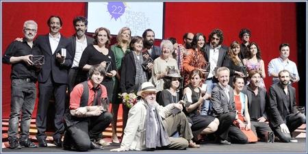 Galardonados XXII Premios Unión de Actores