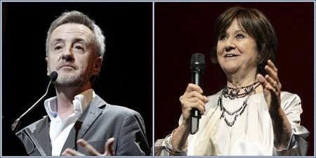 Carlos Hipólito y Julieta Serrano