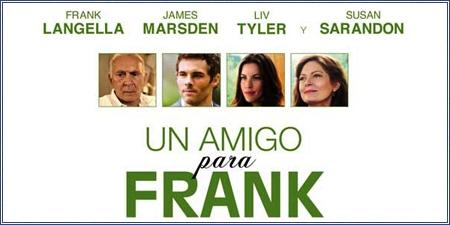 """Un amigo para Frank (""""Robot & Frank"""")"""
