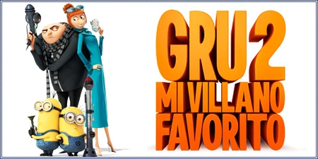Gru 2: Mi villano favorito (Despicable me 2)