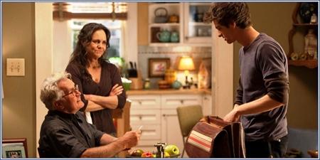 Martin Sheen, Sally Field y Andrew Garfield