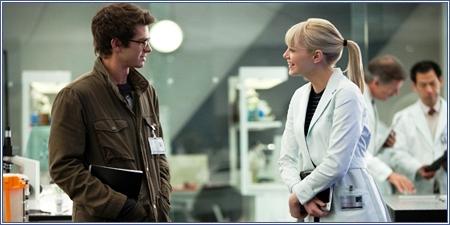 Andrew Garfield y Emma Stone