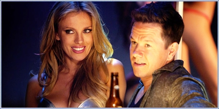Bar Paly y Mark Wahlberg