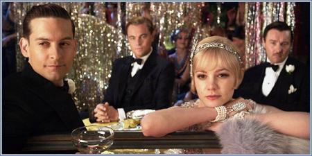 Nick, Gatsby, Daisy y Tom