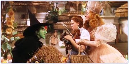 La Bruja Mala del Oeste, Dorothy y Glinda