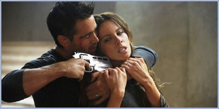 Colin Farrell y Kate Beckinsale