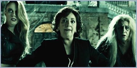 Carolina Bang, Carmen Maura y Terele Pávez
