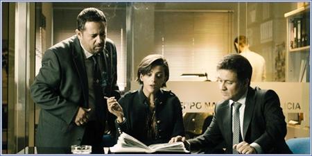 Pepón Nieto, Macarena Gómez y Secun de la Rosa