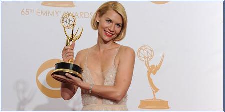 Claire Danes mejor actriz dramática.
