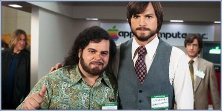 Josh Gad y Ashton Kutcher