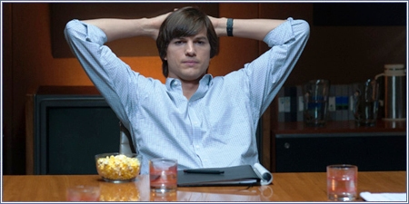 Ashton Kutcher es Steve Jobs