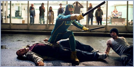 Kick-Ass en acción