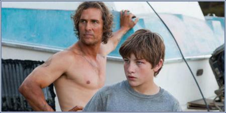 Matthew McConaughey y Tye Sheridan