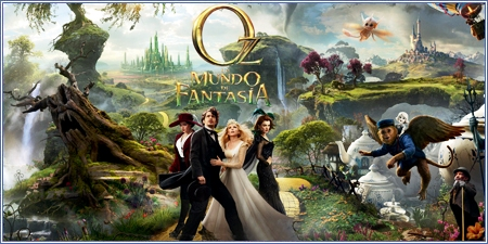 "Oz: Un mundo de fantasía (""Oz: The great and powerful"")"