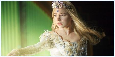 Michelle Williams es Glinda