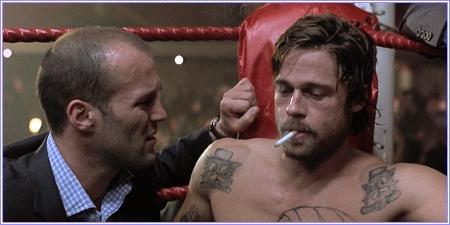 Jason Statham y Brad Pitt