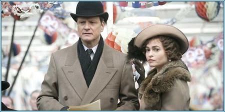 Colin Firth y Helena Bonham-Carter