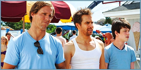 Nat. Faxon, Sam Rockwell y Liam James