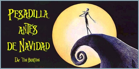 Pesadilla antes de Navidad (The nightmare before Christmas)
