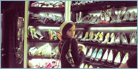 El vestidor de Paris Hilton