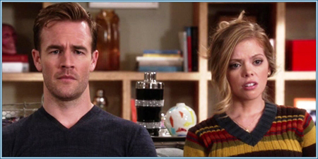 James Van Der Beek y Dreama Walker