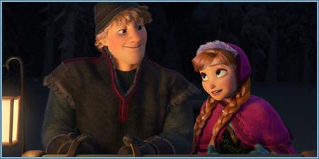 Kristoff y Anna