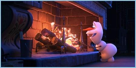 Olaf el muñeco de nieve