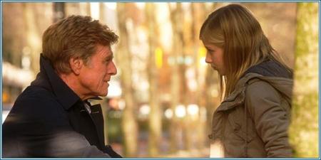 Robert Redford y Jaqueline Evancho