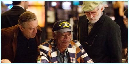 Robert De Niro, Morgan Freeman y Kevin Kline