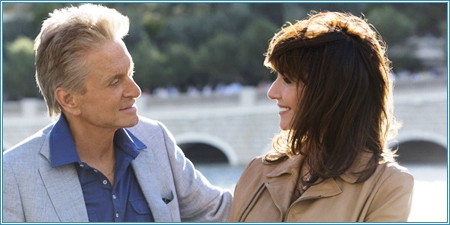 Michael Douglas y Mary Steenburgen