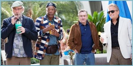 Kevin Kline, Morgan Freeman, Robert De Niro y Michael Douglas