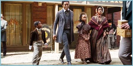 Solomon Northup y su familia