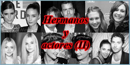 Hermanos y actores