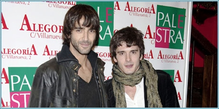 Aitor Luna y Yon González