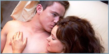 Channing Tatum y Rachel McAdams