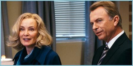 Jessica Lange y Sam Neill