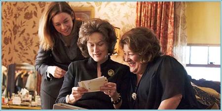 Julianne Nicholson, Meryl Streep y Margo Martindale