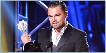 Leonardo DiCaprio, mejor actor de comedia
