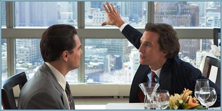 Leonardo DiCaprio y Matthew McConaughey