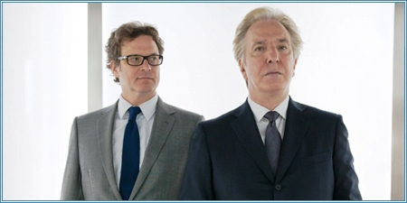 Colin Firth y Alan Rickman