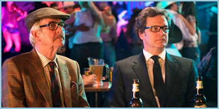 Tom Courtenay y Colin Firth