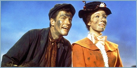 Dick van Dyke y Julie Andrews