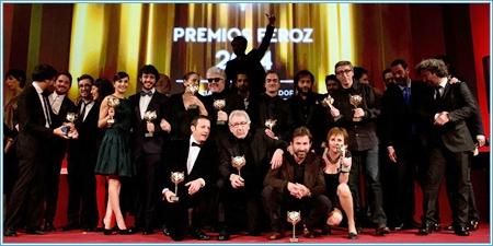 Galardonados Premios Feroz 2014