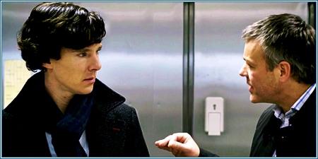 Sherlock y Lestrade