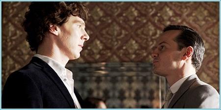 Sherlock y Moriarty