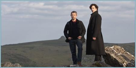 Martin Freeman y Benedict Cumberbatch